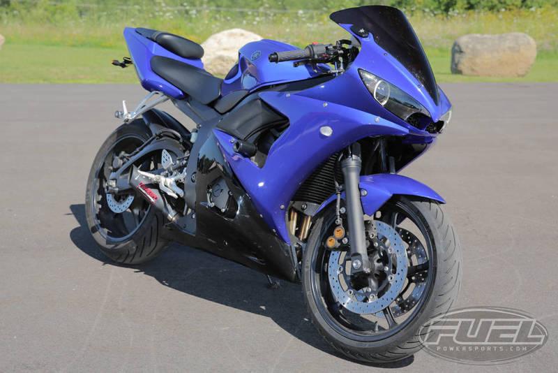 $6,487, 2009 Yamaha YZF R6