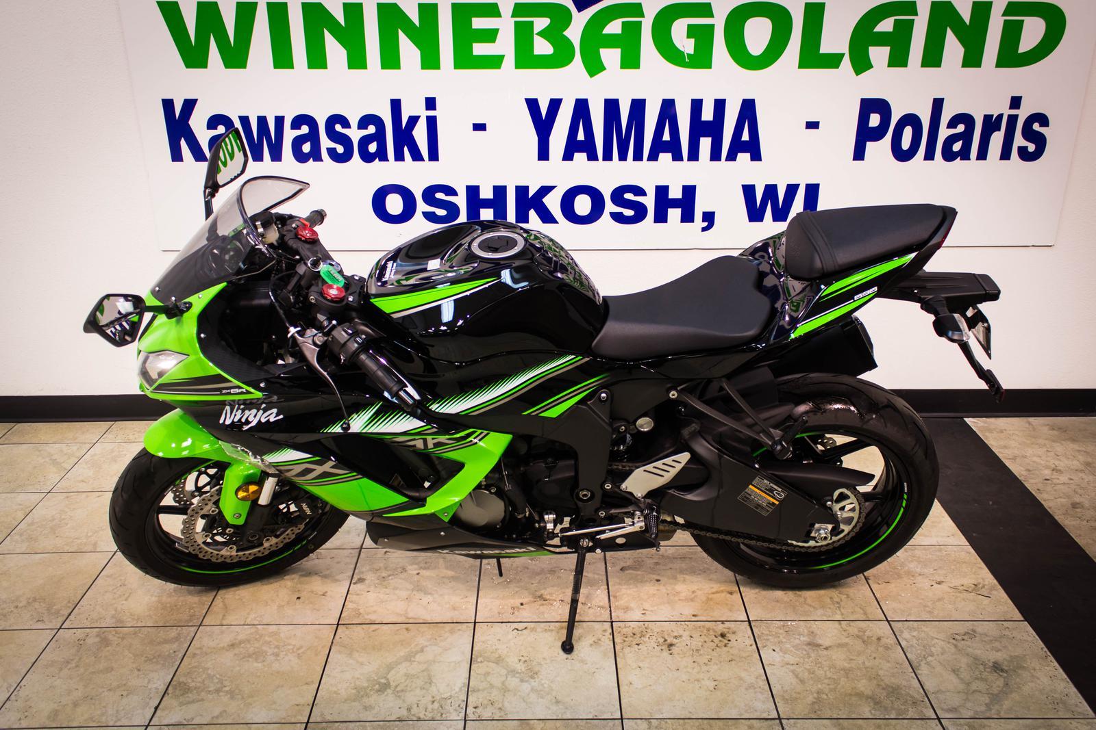 $11,999, 2016 Kawasaki Ninja ZX-6R