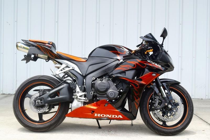 $5,999, 2008 Honda CBR 600RR