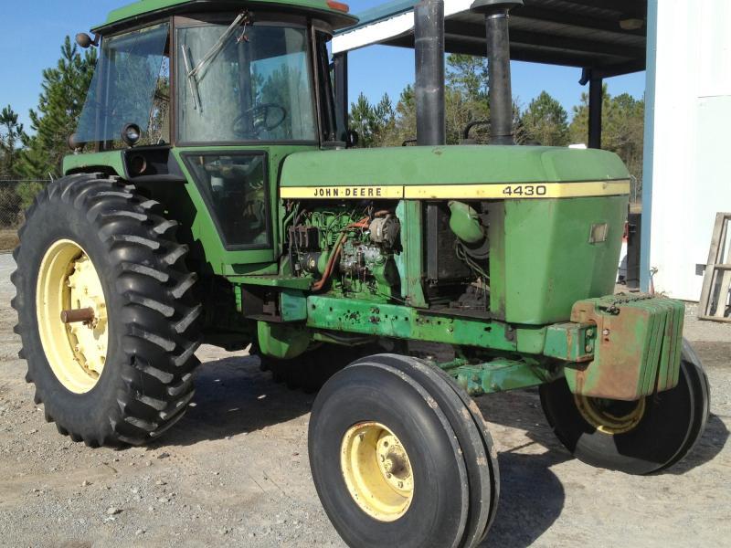 $13,900, 1975 John Deere 4430