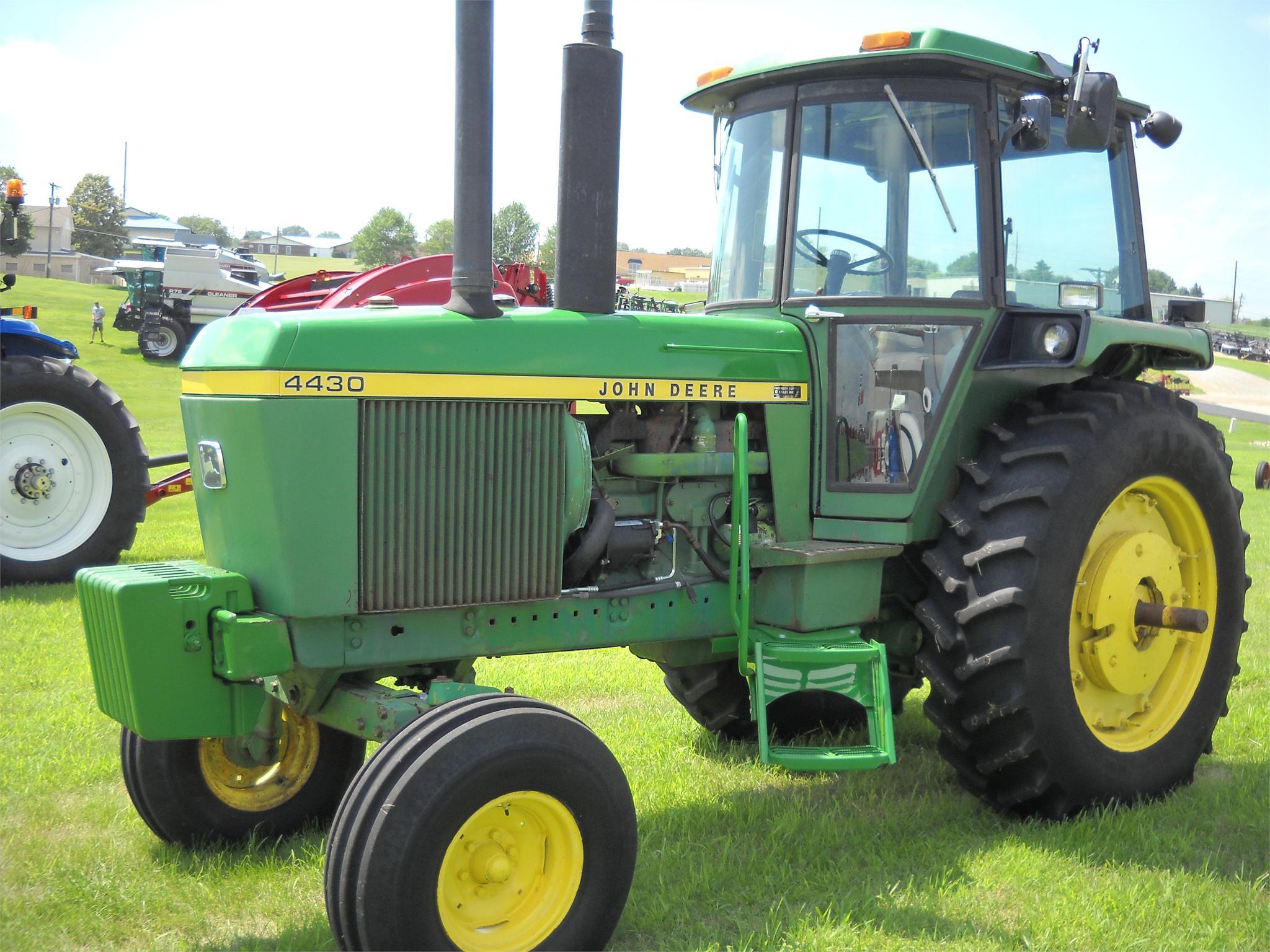 $21,500, 1974 John Deere 4430