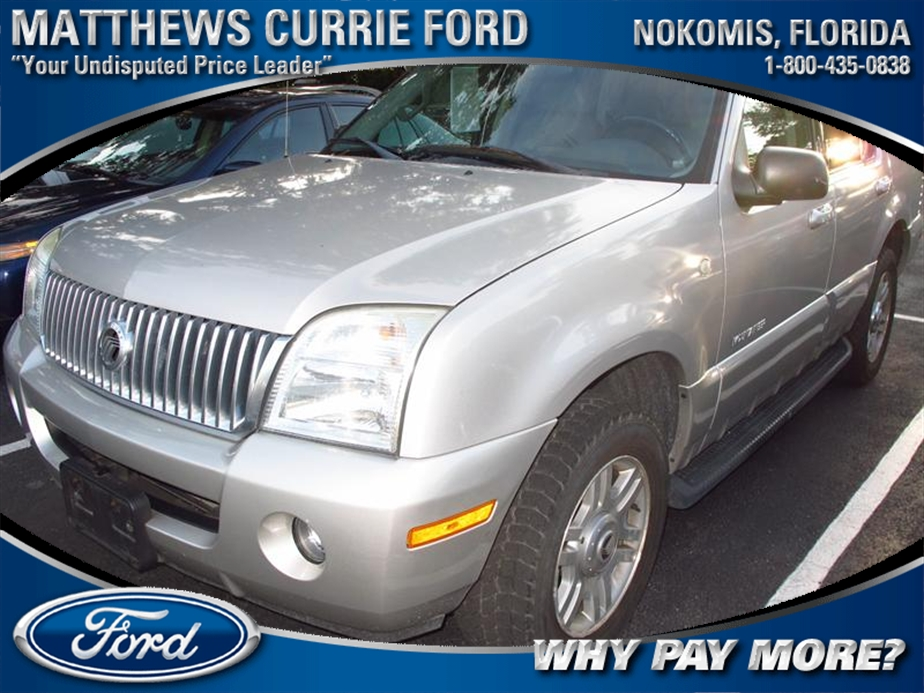 2002 MERCURY MOUNTAINEER 4dr AWD